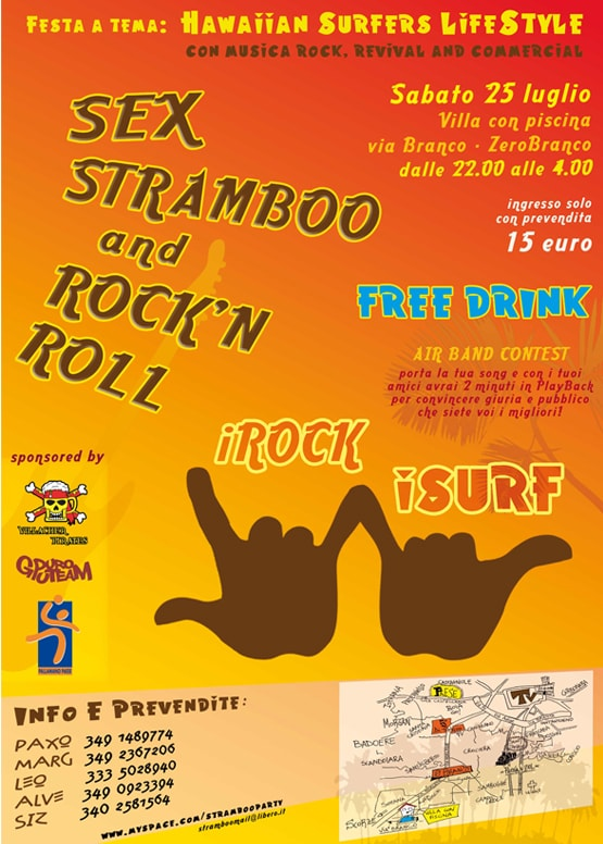 stramboo surf party
